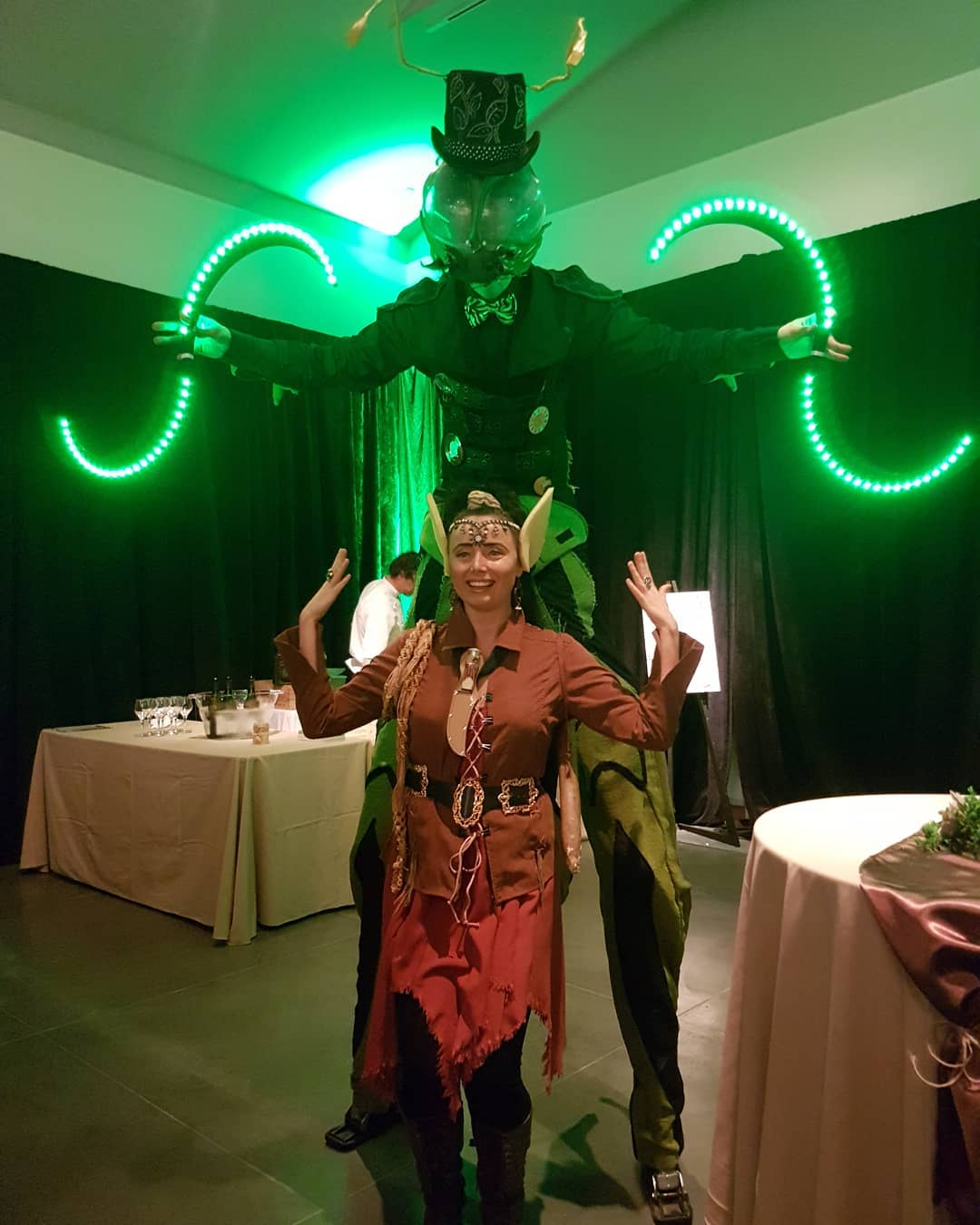 Stilt Walkers Okanagan