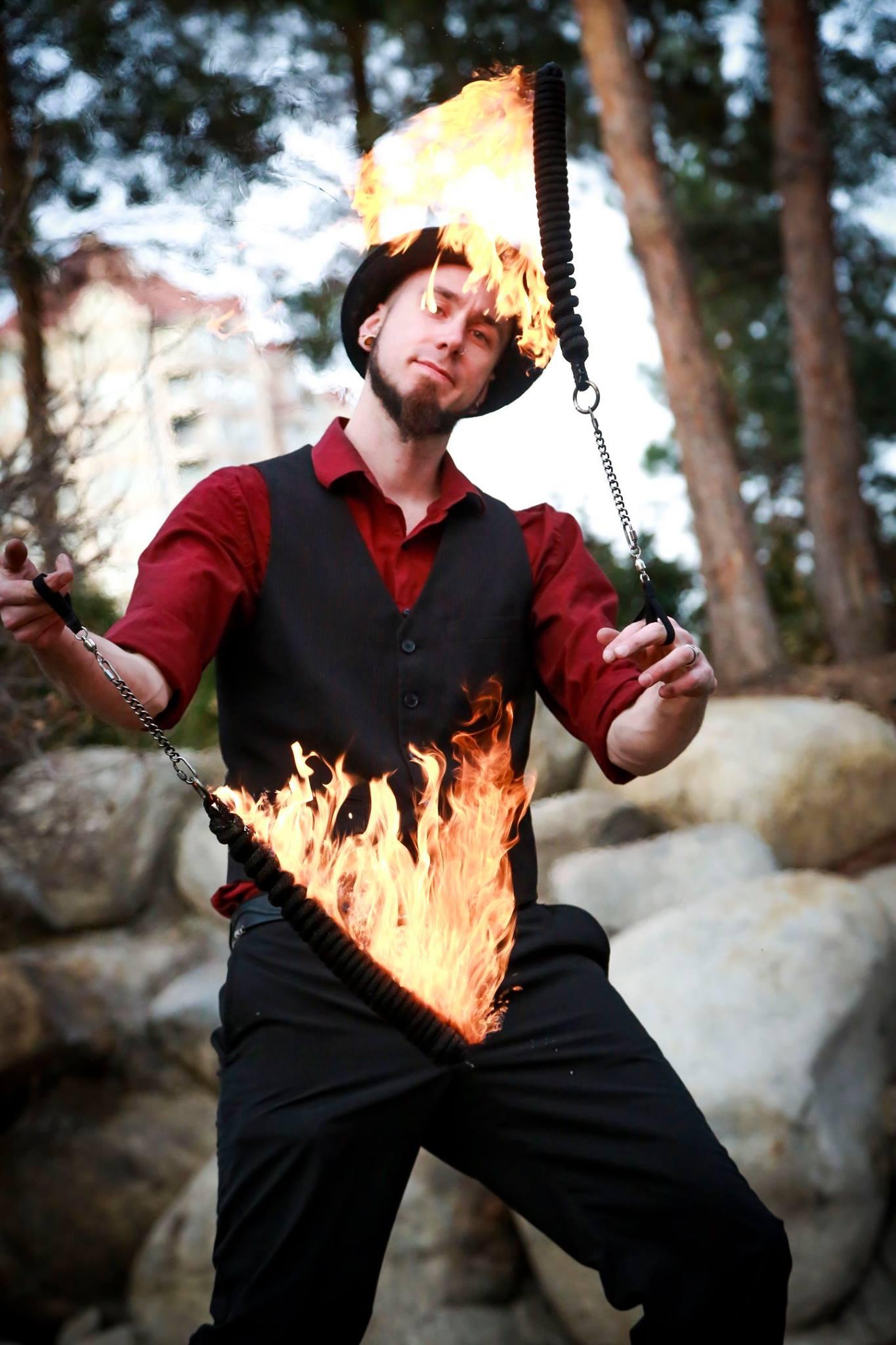 Fire Performer Kelowna